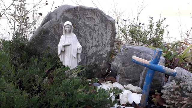 Virign Mary Statue St Judes Shrine
