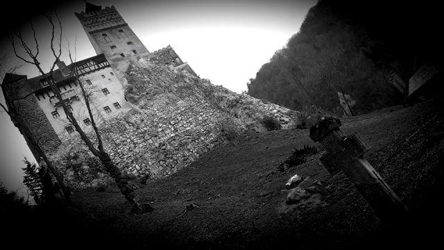 Bran Castle, Dracula's Castle Transylvania with Cross