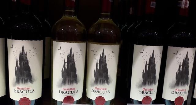 Castle Dracula Wine