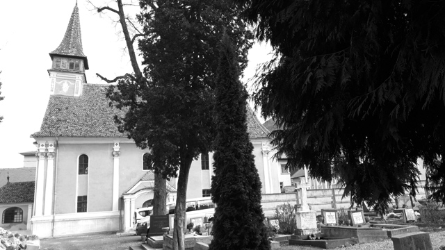 Church and Gravyard Brasov
