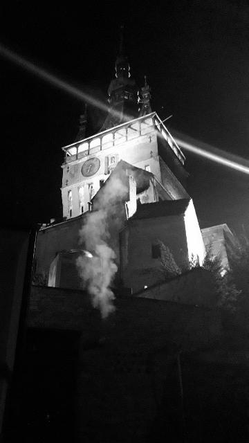 clock tower mist