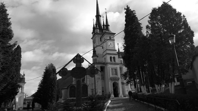 Fairytale church Brasov Transylvania