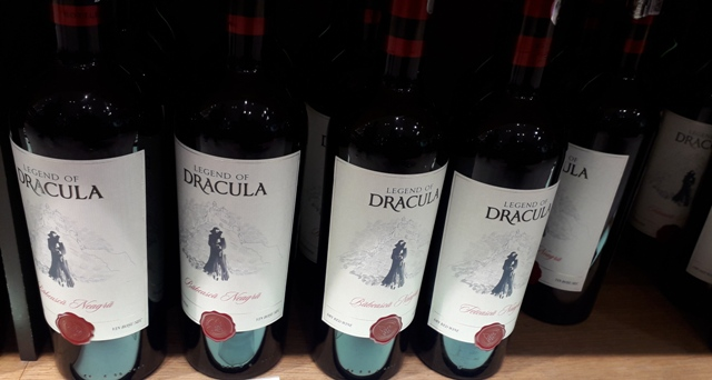 Legend of Dracula Wine