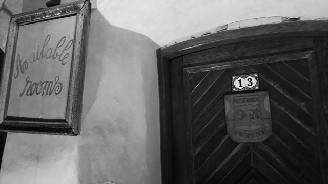 Number 13 door sighisoara