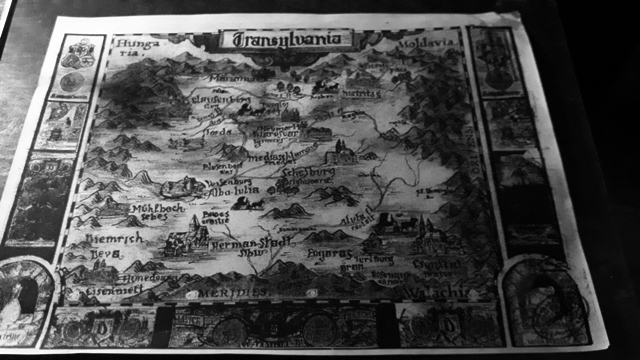 Old Transylvania Map