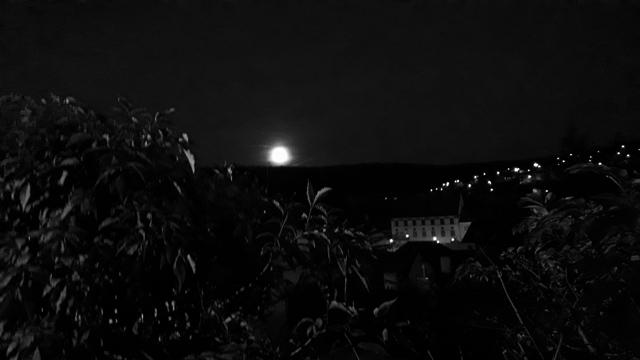 Sighisoara Moonlight Transylvania Full Moon