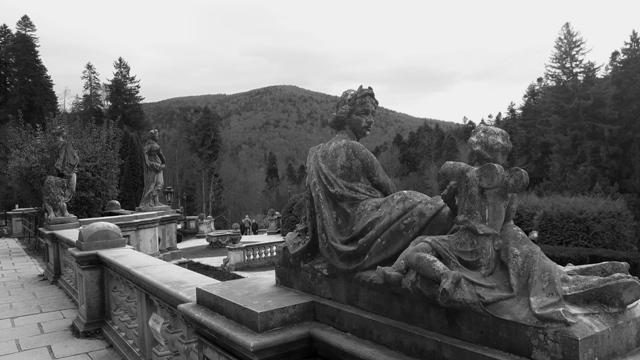 Statues Peles Castle