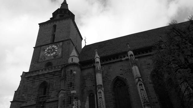 The Black Church Brasov Transylvania