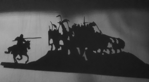 The Dracula Invesitgation silhouette art
