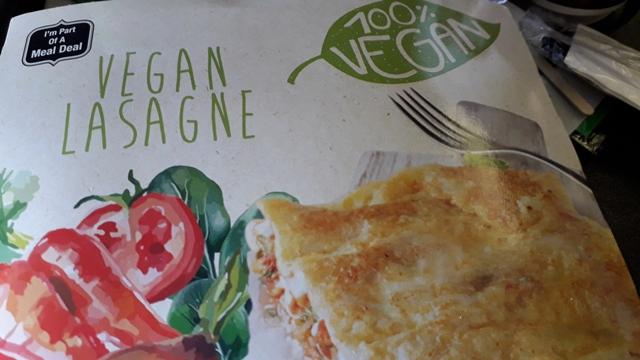 Vegan Lasagne Airline Meal