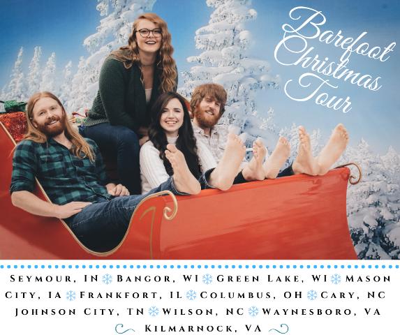 Barefoot Christmas Tour