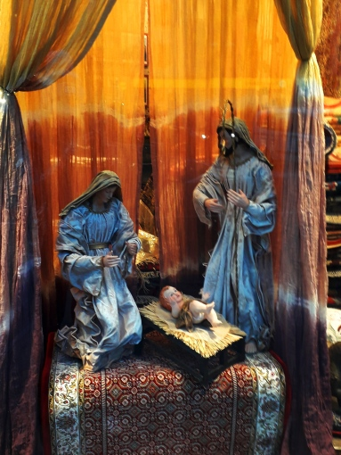 Nativity Window Display Andorra