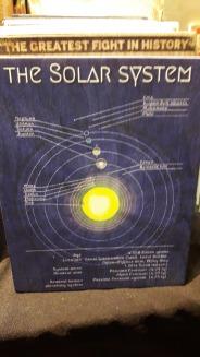 solar System wooden artwork