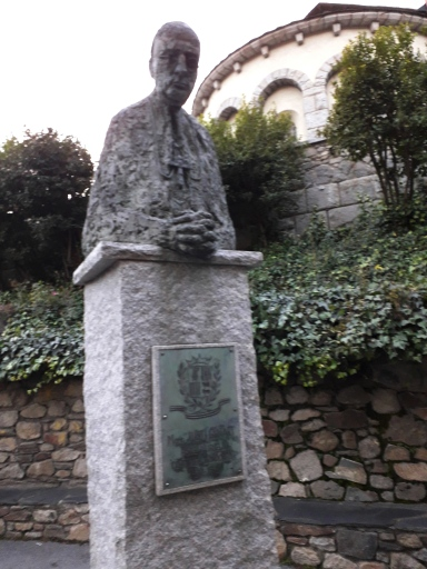 Stone statue andorra