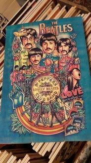 The Beatles Artwork Christmas Market