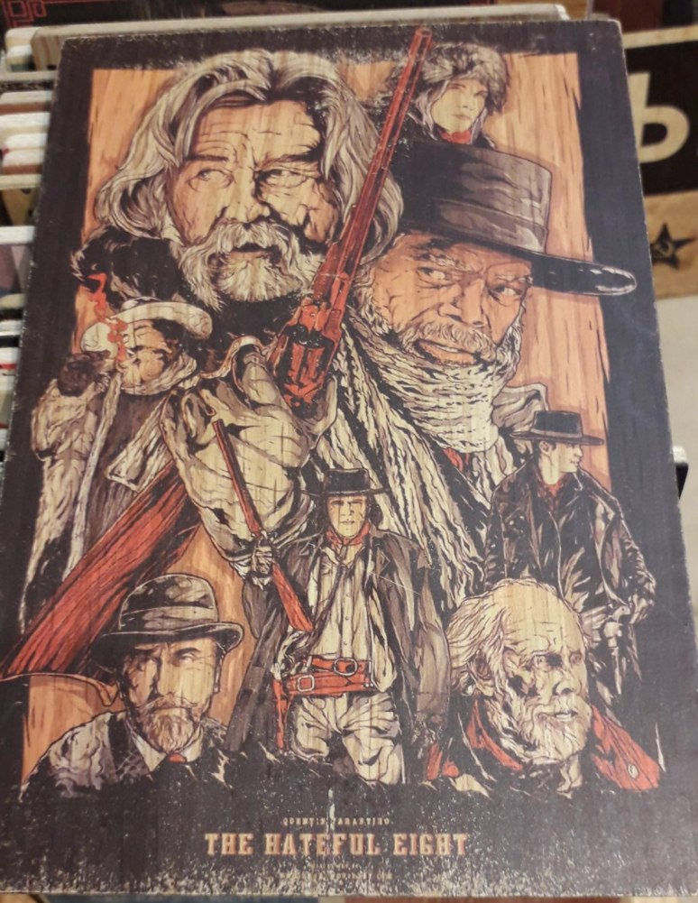 The Hateful Eight Country and Western Artwork
