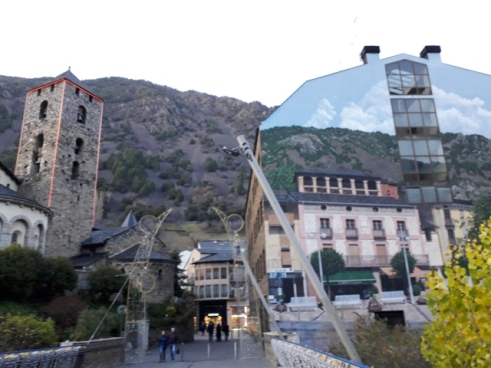 Unusual building Andorra