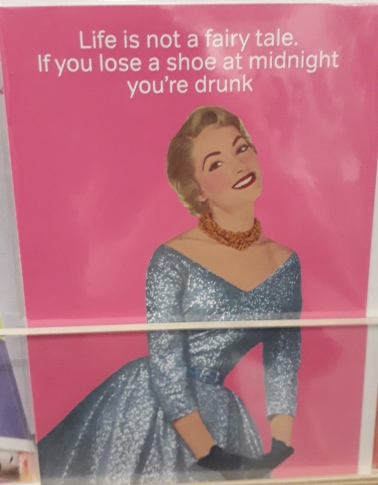 Cinderella birthday card