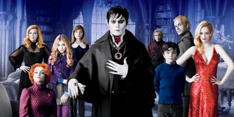 Dark shadows 2012 cast