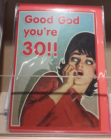 Thirty Birthday Card 30