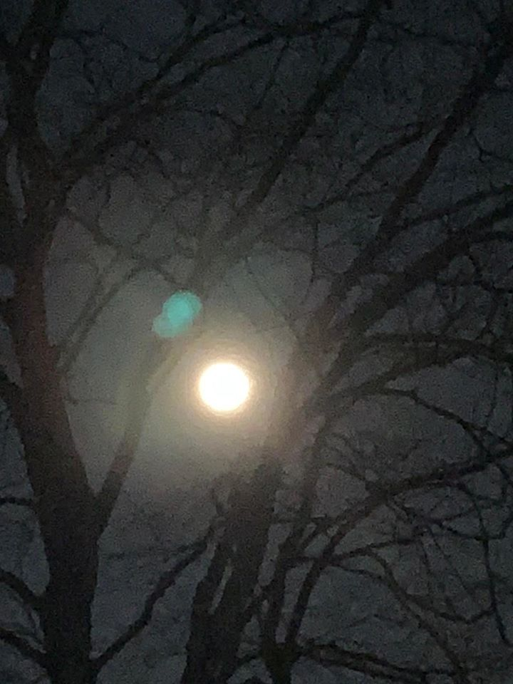 Full Snow Moon feb 2020