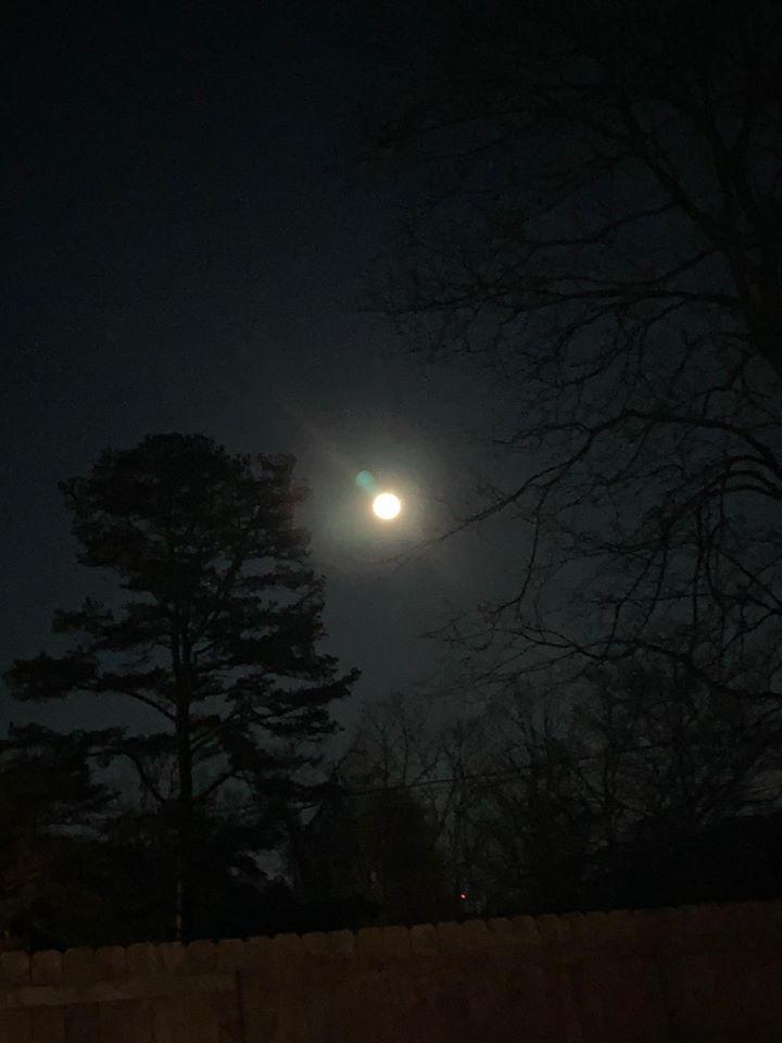 Full Snow Moon Supermoon Photo February 2020