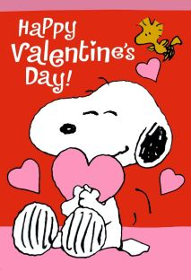 Happy Valentines Day Snoopy