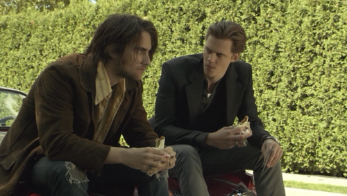 Hemlock Grove Peter and Roman