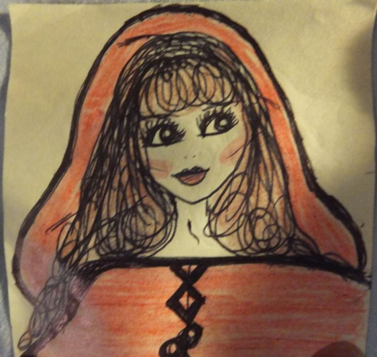Post it People Little Red Riding Hood