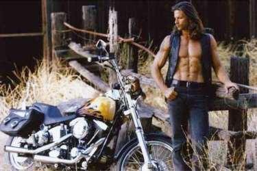 Renegade Lorenzo Lamas and Harley Davidson