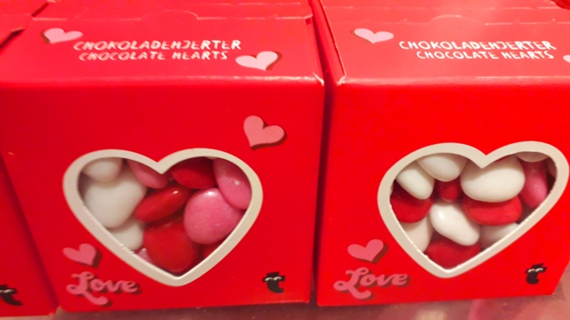 Valentines Heart Candy Sweets