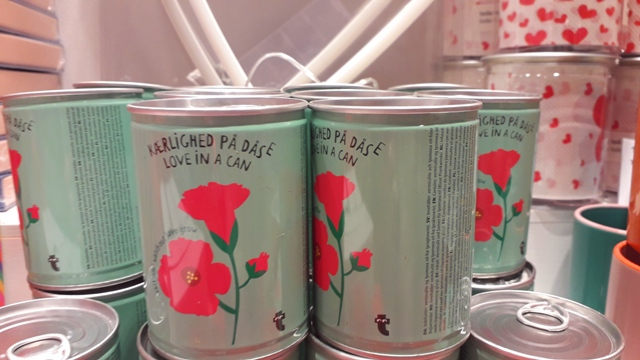 Valentines Love in a can