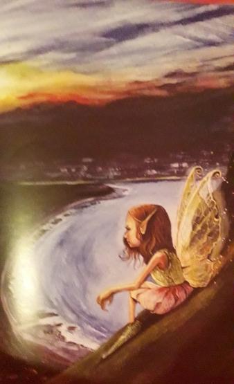 Fairy by the Irish Coast