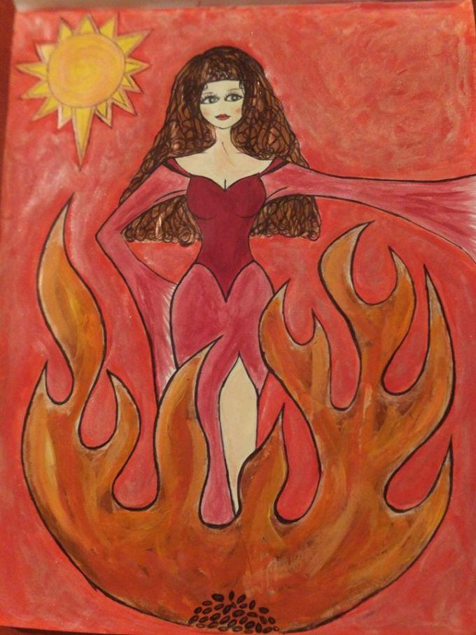 steiner-art-fire-girl-flame-girl