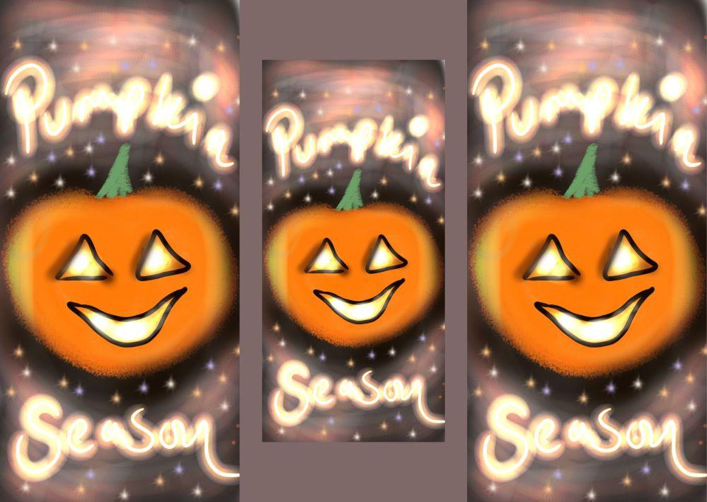 Pumpkin Season Digital ARt