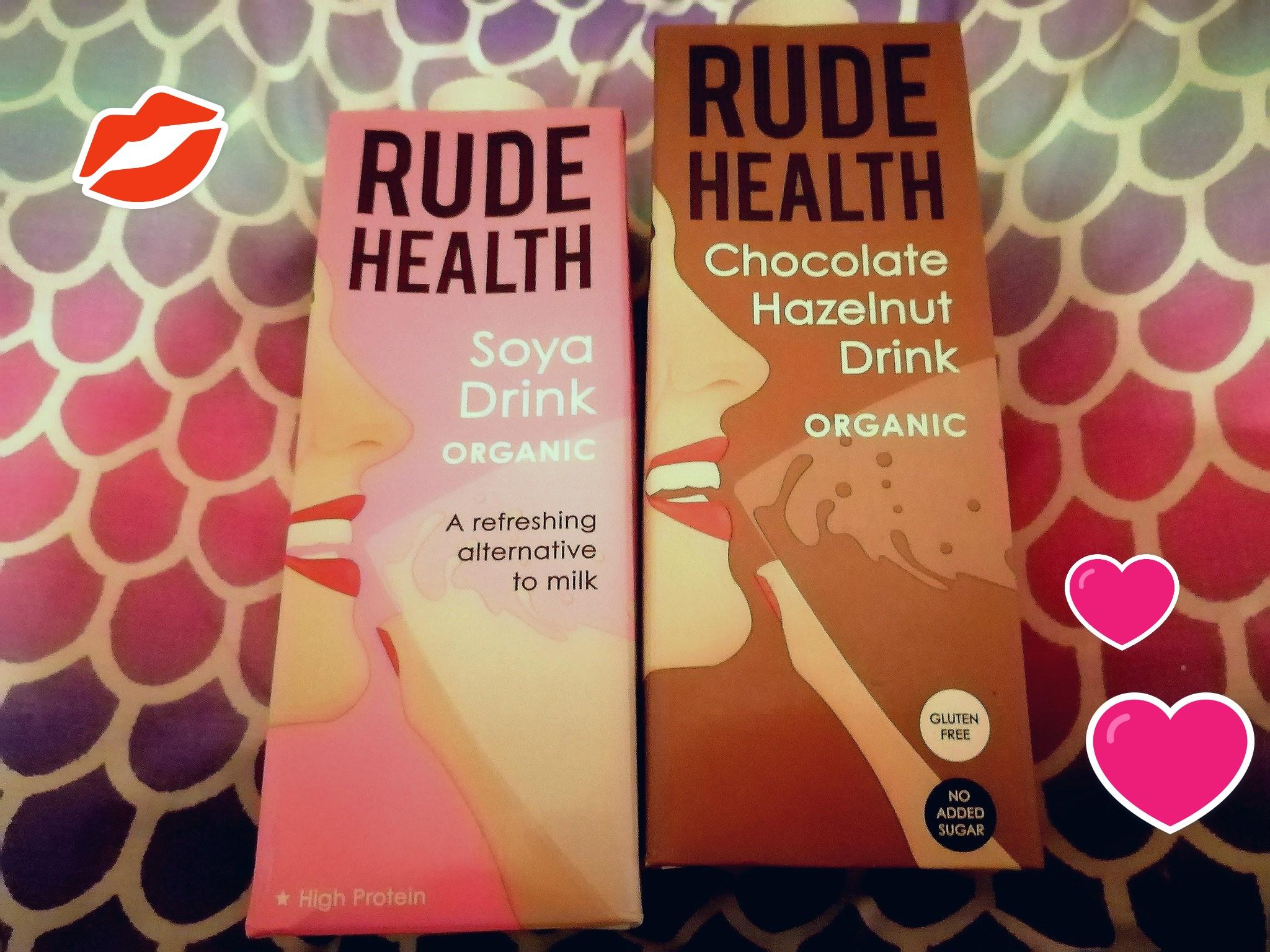 Vegan Soya Milk and Chocolate Hazelnut Milk Plant Based Milks
