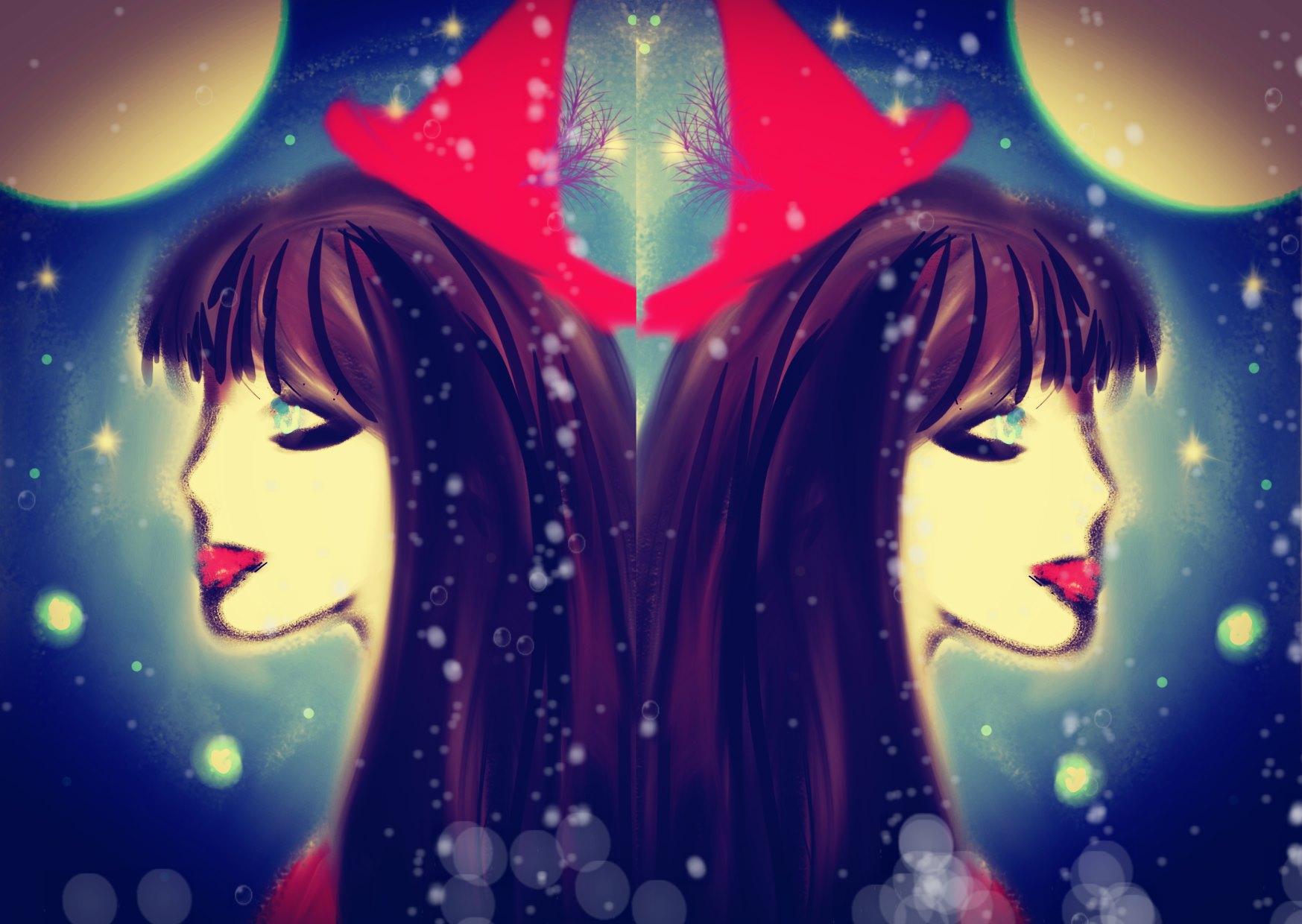 Cosmic Halloween Full Moon Sorceress