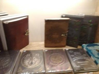 Magic Books in Shop