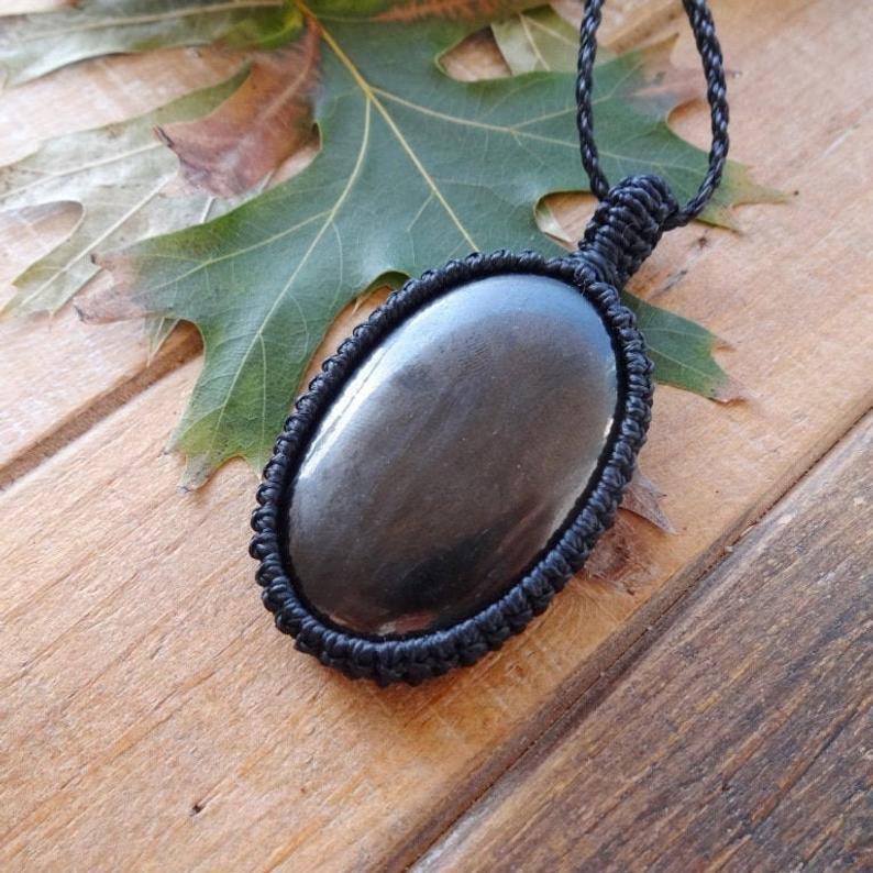 Shungite Pendant necklace