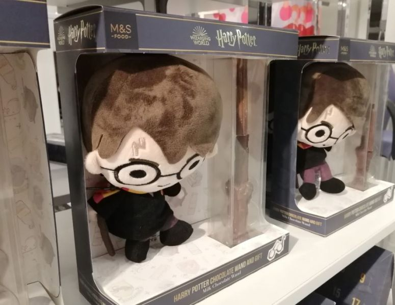 Harry Potter Doll with Chocolate Wand