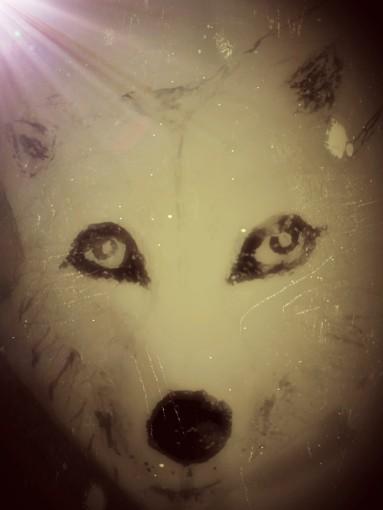 Full Wolf Moon Art