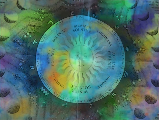 Cosmic Celtic Wheel of the Year
